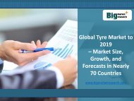 Global Tyre Market to 2019 in 70 Countries Growing or Decreasing?