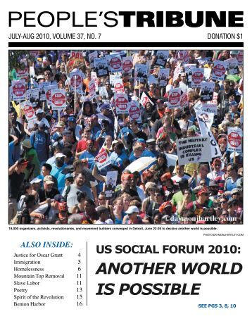 PDF Version - People's Tribune
