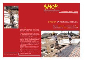 Numero 70 marzo 2007 - Snop