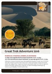 Great Trek Adventure 2016