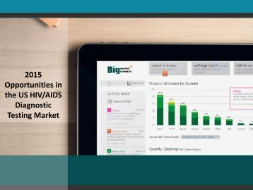 2015 Opportunities in the US HIV/AIDS Diagnostic Testing Market