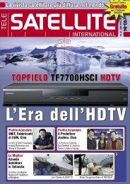 Il Mondo dei Satelliti - TELE-satellite International Magazine