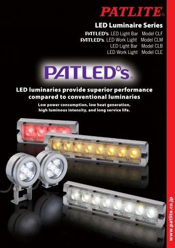 LED Luminaire Series - Iberica de Automatismos