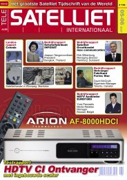 HDTV CI Ontvanger - TELE-satellite International Magazine