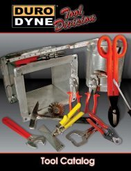 Tool Product Catalog - Duro Dyne