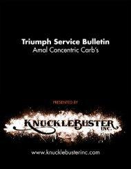 1973 Carb Bulletin - Knucklebuster