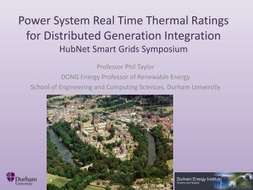 Phil Taylor, Durham University