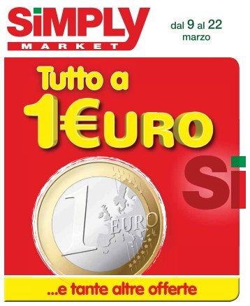 110315 - SIMPLY 10 - Tutto a 1 Euro