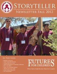 Newsletter Fall 2012 - Futures for Children