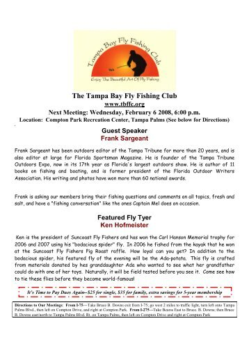 Page 7 - Tampa Bay Fly Fishing Club