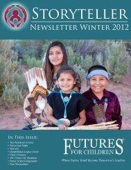Newsletter Winter 2012 - Futures for Children