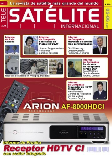 Receptor HDTV CI - TELE-satellite International Magazine