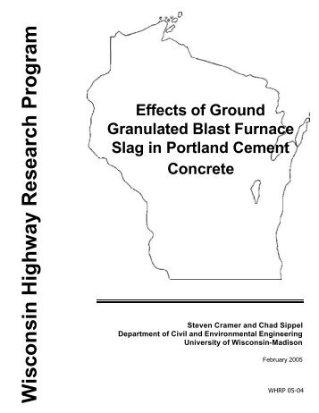 Effects of Ground Granulated Blast Furnace Slag in Portland Cement ...