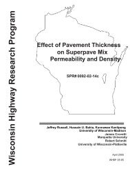 Effect of Pavement Thickness on Superpave Mix Permeability and ...