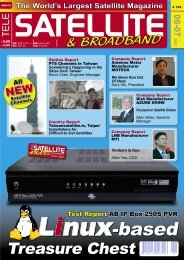 Linux-based - TELE-satellite International Magazine