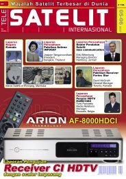 Receiver CI HDTV - TELE-satellite International Magazine