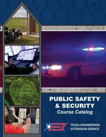 PUBLIC SAFETY & SECURITY - Texas Engineering Extension Service