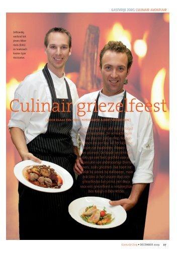 Culinair griezelfeest - Gastvrije Zorg
