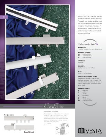 DecoTrax - Curtain Rods by Quality Curtain Hardware