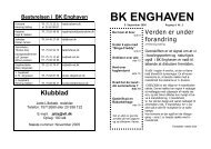 Årgang 4 - Nr. 2 side 1-9 - BK Enghaven