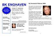 Årgang 2 - Nr. 3 side 1-8 - BK Enghaven