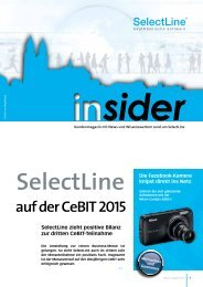 insider 2015/01 - SelectLine Software