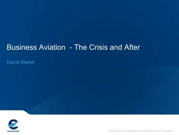 Business Aviation - The Crisis and After (496 KB, PDF) - eBace