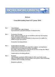 Referat Generalforsamling Smut d.25. januar 2010.