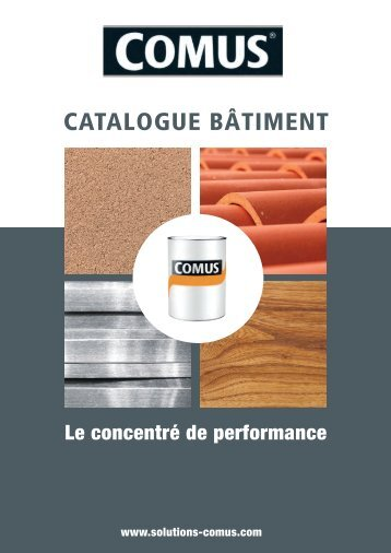 CATALOGUE BÂTIMENT