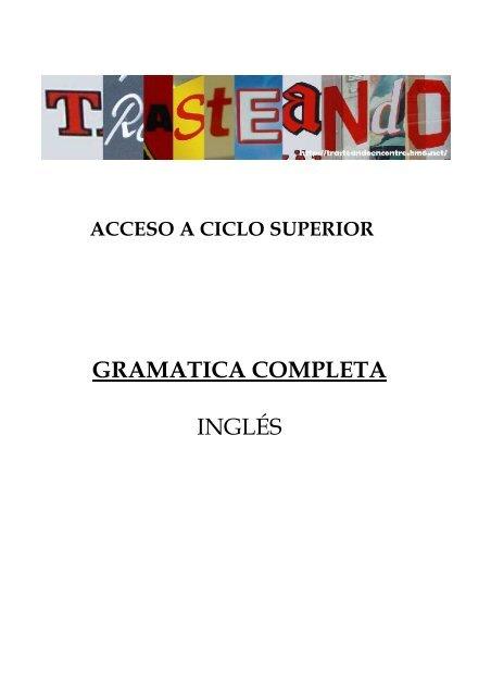 Gramatica Completa Inglés