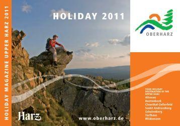 HOLIDAY 2011 - Der Oberharz