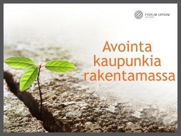 Pauliina Smeds - Forum Virium Helsinki