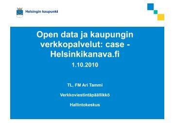 Helsinkikanava.fi - Forum Virium Helsinki
