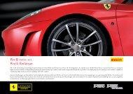 Pirelli tyres set Pirelli-Reifenset