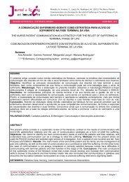 Comunicação Enfermeiro-doente - AAGI-ID Associação Amigos da ...