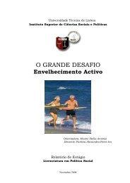 o grande desafio – envelhecimento activo - AAGI-ID Associação ...
