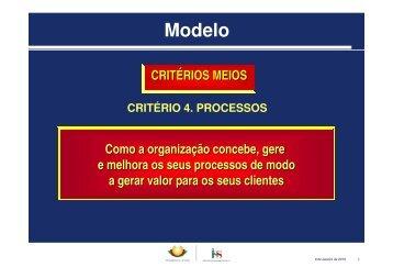 Modelo – Critéios/ Meios - AAGI-ID Associação Amigos da Grande ...
