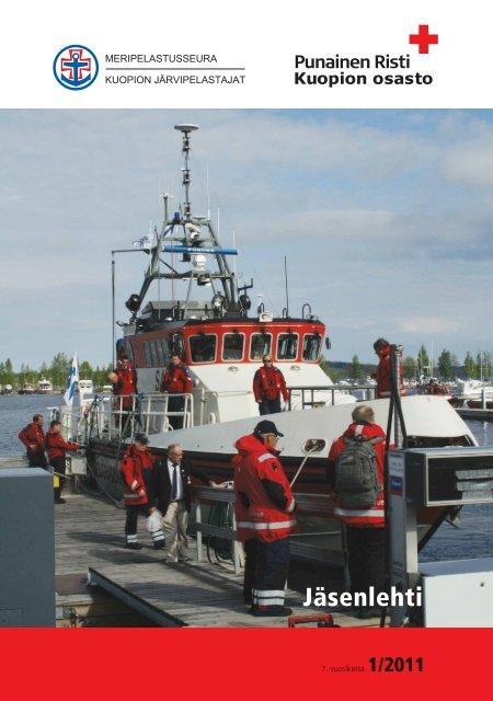 SPR Kuopion osaston jäsenlehti 2011 - RedNet - Punainen Risti