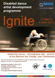 Ignite 2011 flyer - The Key