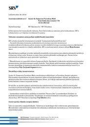 Lehdistötiedote 24.4.2012 Asuntomessukohde nro 2 ... - Asuntomessut