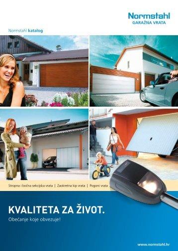 Zajednički katalog za Normstahl_garažna vrata