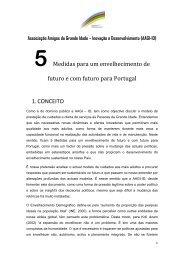5 Medidas para um envelhecimento de futuro e com futuro para ...