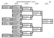 Latvijas Čempionāta 2010/2011 1. posms - LRBF