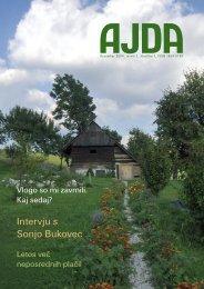 Intervju s Sonjo Bukovec - Agencija RS za kmetijske trge in razvoj ...