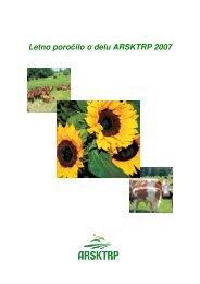 Letno poročilo o delu ARSKTRP 2007 - Agencija RS za kmetijske ...
