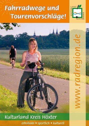 Fahrradwege und Tourenvorschläge! - Stadt Nieheim