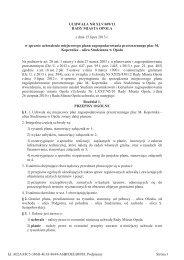 UCHWAŁA NR XLV/699/13 RADY MIASTA OPOLA z dnia ... - Opole