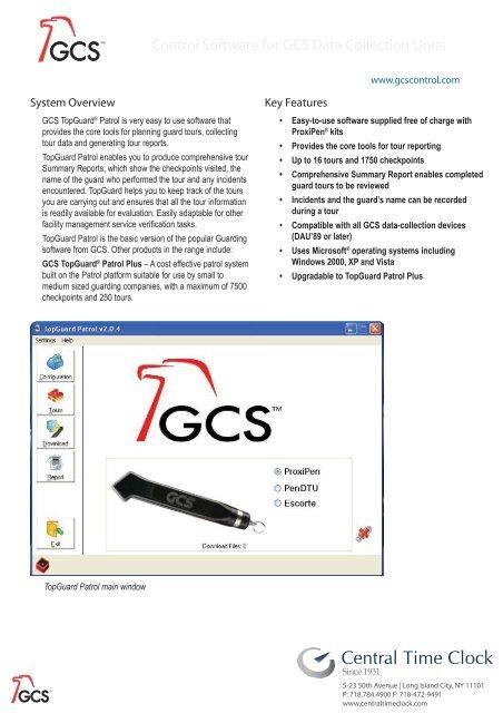 GCS PROXIPEN DRIVERS