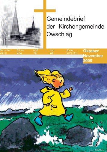 Oktober / November 2009 - Gemeinde Owschlag