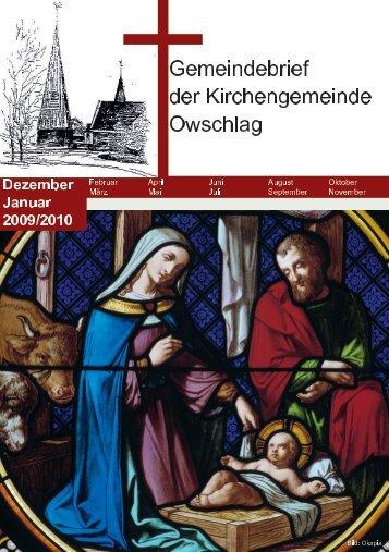 Dezember 2009 / Januar 2010 - Gemeinde Owschlag